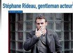 Stéphane Rideau gentleman acteur dans presse 01a11-150x110